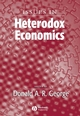 Issues In Heterodox Economics (1405179619) cover image
