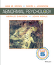 Abnormal Psychology Twelfth Edition DSM-5 Update (EHEP002719) cover image