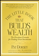 The Little Book That Builds Wealth: The Knockout Formula for Finding Great Investments (047022651X) cover image