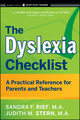 The Dyslexia Checklist: A Practical Reference for Parents and Teachers (047042981X) cover image