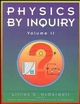 Physics by Inquiry: An Introduction to Physics and the Physical Sciences, Volume 2 (047114441X) cover image
