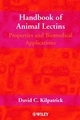 Handbook of Animal Lectins: Properties and Biomedical Applications (047189981X) cover image