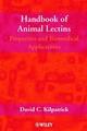 Handbook of Animal Lectins: Properties and Biomedical Applications (047189981X) cover image