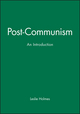 Post-Communism: An Introduction (074561311X) cover image