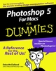 Photoshop 5 For Macs For Dummies (076450391X) cover image