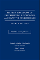 Stevens' Handbook of Experimental Psychology and Cognitive Neuroscience, Volume 1, Learning and Memory, 4th Edition (111917001X) cover image