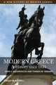 Modern Greece: A History since 1821 (140518681X) cover image