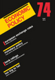 Economic Policy 74 (144435101X) cover image