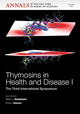 Thymosins in Health and Disease I: Third International Symposium, Volume 1269 (157331871X) cover image