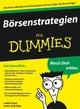 Börsenstrategien für Dummies (352763391X) cover image