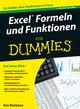 Excel Formeln und Funktionen für Dummies, 2. Auflage (352768901X) cover image