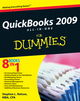QuickBooks 2009 All-in-One For Dummies (0470396520) cover image