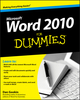 Word 2010 For Dummies (0470487720) cover image