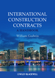 International Construction Contracts: A Handbook (0470655720) cover image