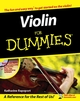 Violin For Dummies (0470677120) cover image