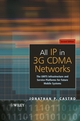 All IP in 3G CDMA Networks: The UMTS Infrastructure and Service Platforms for Future Mobile Systems (0470853220) cover image