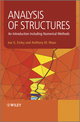Analysis of Structures: An Introduction Including Numerical Methods (0470977620) cover image