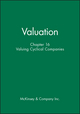 Valuation, Chapter 16: Valuing Cyclical Companies (0471408220) cover image