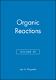 Organic Reactions, Volume 39 (0471526320) cover image