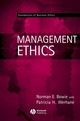 Management Ethics (0631214720) cover image