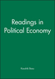 Readings in Political Economy (0631223320) cover image