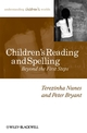 Children's Reading and Spelling: Beyond the First Steps (0631234020) cover image