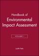 Handbook of Environmental Impact Assessment, Volume I (0632047720) cover image