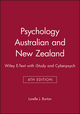 Psychology Australian and New Zealand 4E Wiley E-Text with iStudy and Cyberpsych (0730314820) cover image