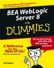 BEA WebLogic Server 8 For Dummies (0764524720) cover image