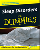 Sleep Disorders For Dummies (1118068920) cover image
