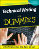 Technical Writing For Dummies (1118069420) cover image