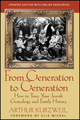 From Generation to Generation: How to Trace Your Jewish Genealogy and Family History (1118104420) cover image