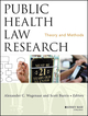 Public Health Law Research: Theory and Methods (1118137620) cover image