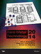 Rare Metal Technology 2014 (1118888820) cover image