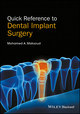Quick Reference to Dental Implant Surgery (1119290120) cover image