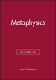 Metaphysics, Volume 20 (1405167920) cover image