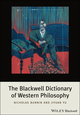 The Blackwell Dictionary of Western Philosophy (1405191120) cover image