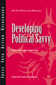 Developing Political Savvy (1604911220) cover image