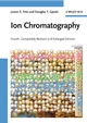 Ion Chromatography, 4th, Completely Revised and Enlarged Edition (3527320520) cover image