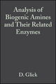Analysis of Biogenic Amines and Their Related Enzymes (0470110821) cover image