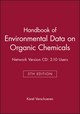 Handbook of Environmental Data on Organic Chemicals, 5e Network Version CD: 2-10 Users (0470484721) cover image