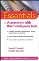 Essentials of Assessment with Brief Intelligence Tests (0471264121) cover image