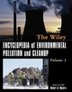 Encyclopedia of Environmental Pollution and Cleanup (0471316121) cover image