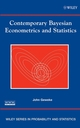 Contemporary Bayesian Econometrics and Statistics (0471679321) cover image