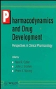 Pharmacodynamics and Drug Development: Perspectives in Clinical Pharmacology (0471950521) cover image