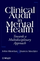 Clinical Audit in Mental Health: Toward a Multidisciplinary Approach (0471963321) cover image