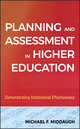 Planning and Assessment in Higher Education: Demonstrating Institutional Effectiveness (1118045521) cover image