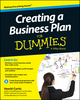Creating a Business Plan For Dummies (1118641221) cover image