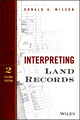 Interpreting Land Records, 2nd Edition (1118746821) cover image