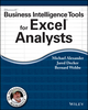 Microsoft Business Intelligence Tools for Excel Analysts (1118821521) cover image